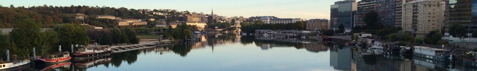 セーヌ川の眺め